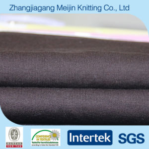 Coffee Knit Polyester Spandex Ponte Roma Stretch Elastice Fabric (MJ5037)