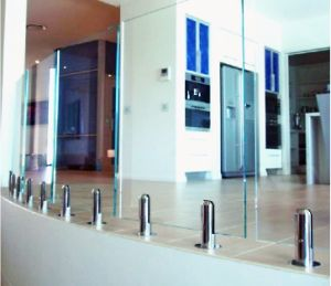 Swimming Pool Stainless Steel Glass Clamp &Glass Spigot (CR-A02) pictures & photos