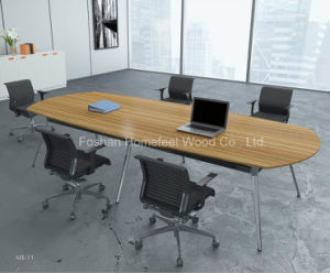 Oval Shape Boardroom Conference Table (HF-YZ110) pictures & photos