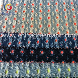Cotton Denim Wash Punching Compound Fabric for Coat Pant (GLLML164) pictures & photos