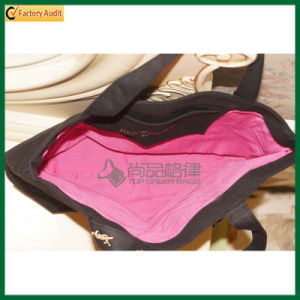 Custom Embroidery Plain Canvas Women Tote Bag (TP-TB163) pictures & photos