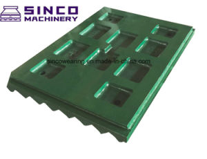 Crusher Spare Parts Jaw Plate for Metso Shanbao