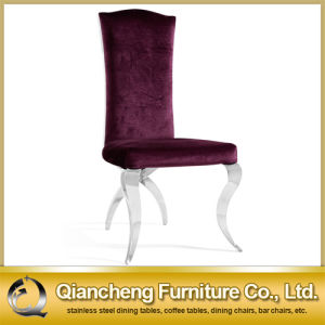Good Quality Stainless Steel Legs Restaurant Dining Chair pictures & photos