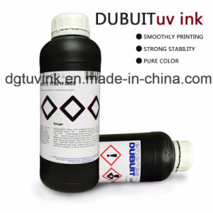 Original Dubuit LED Curable UV Ink pictures & photos