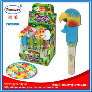 Singing Animals Toy with Candy Tube