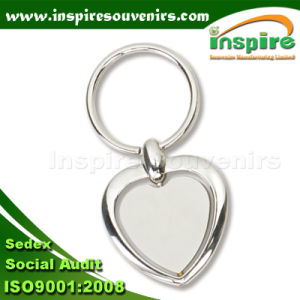 Heart Shaped Spinner Keychain for Promotion Gift (K505) pictures & photos
