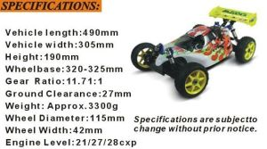 2016 Hot 1/8th Scale Nitro off Road Buggy pictures & photos