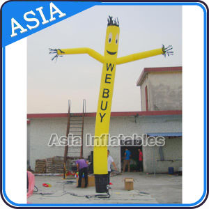 Cheap Yellow Color Inflatable Air Dancer, Inflatable Advertising Air Dancer pictures & photos
