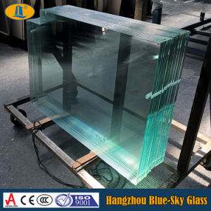 3mm-19mm Clear/Tinted Tempered Glass with CE/CCC/as Certificate