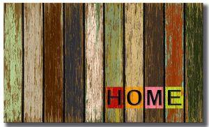 Flocked Rubber Door Mat 8866-06 pictures & photos