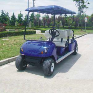EEC Certification 4 Person Electric Car for Golf Course (DG-C4) pictures & photos