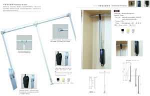 Furniture Wardrobe Necessary Accessories Pull Down Aluminum Clothes Hanger pictures & photos