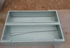 Good Sell Custom Precision Sheet Metal Cabinet with Powder Coating (GL029) pictures & photos
