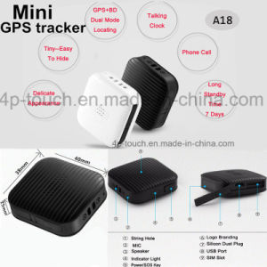 Mini Fashionable Gadget GPS Tracker for Kids (A18) pictures & photos