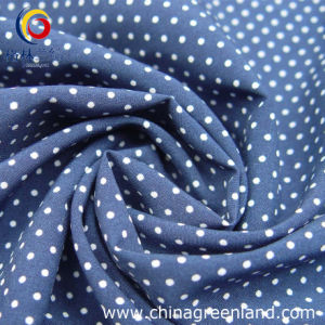 100%Polyester DOT Printed Fabric for Garment Textile (GLLML049) pictures & photos
