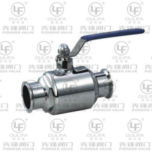 Sanitary Tri-Clamped Ball Valve (WQ81F) pictures & photos