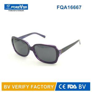 Square Shape Ladies Style Acetate Sunglasses Acchiali Da Sole pictures & photos