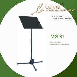 Deluxe Collapsible Orchestra Music Stand - Black (MSS1) pictures & photos