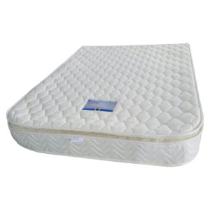 4D Fabric Pillow Top Bonnell Spring Bed Mattress pictures & photos