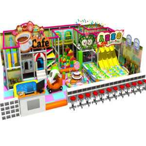 Hot Selling Candy Theme Kids Indoor Soft Playground pictures & photos