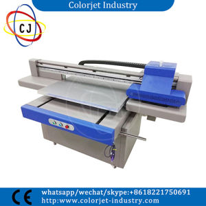 Cj-9060uvt Fast Printing Speed with Double Heads UV Printing Machine on Ceramic pictures & photos
