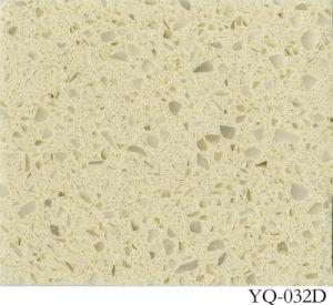 Quartz Stone Kitchen Countertop (YQ-032D) pictures & photos