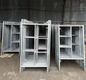 Working Platform H Frame System Scaffold China Low Price pictures & photos