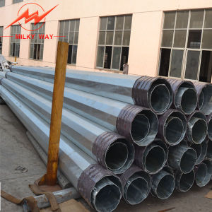 110kv Steel Angle Transmission Heavy Tension Pole pictures & photos