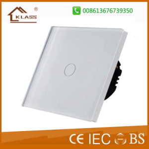 Electronic Wall Switches EU Standard Glass Wall Socket pictures & photos