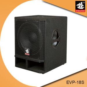 Evp-18s Single 18 Inch PRO Audio Subwoofer Speaker pictures & photos