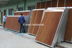 Greenhouse Door Window Air Curtain Frame Evaporative Hcooling Pad pictures & photos