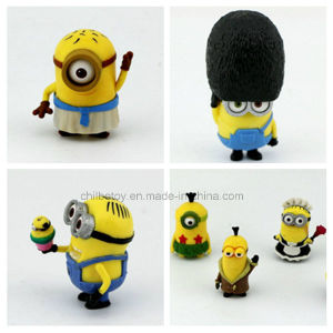 Funny Minions Plastic Cartoon Figure Doll pictures & photos