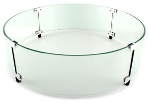 Glass Wind Guards for Fire Pit Inserts pictures & photos