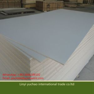 Glossy Surface Melamine Paper Faced Particle Board Chipboard pictures & photos
