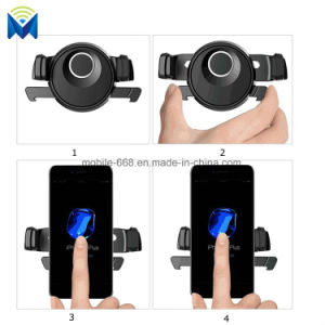 Cellphone Adjustable Easy One Touch CD Slot Car Cradle Mount Holder with Quick Release Button pictures & photos