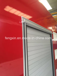 Truck Security Proofing Rolling up Doors (Aluminum Alloy) pictures & photos