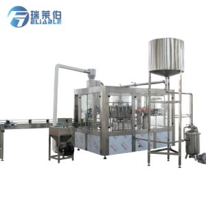 Fully Automatic Plastic Bottled Apple Juice Hot Filling Machine Price pictures & photos