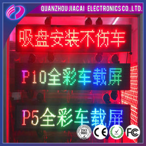 P10 Single Color Taxi LED Display pictures & photos
