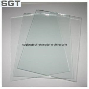 6mm Tempered Clear Float Glass for Table Usage with Round Polished Edge pictures & photos