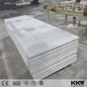Resin Stone Factory Super White Composite Acrylic Solid Surface pictures & photos
