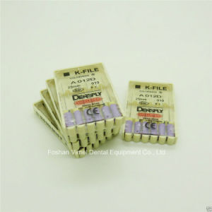 Brand New Dental Dentsply Style K-Files #10 25mm pictures & photos