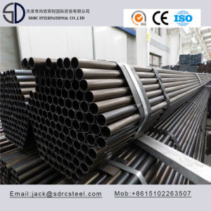 Q195 Carbon Round Black Annealed Steel Pipe for Steel Furniture pictures & photos