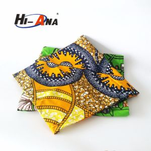 Custom Made Print Logo Multi Color Hitarget Wax Fabric pictures & photos