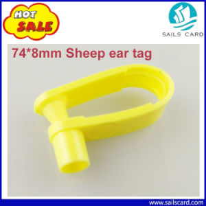Free Sample 74*8mm Ear Tags for Goat Sheep pictures & photos