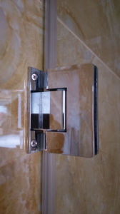 Without Profile Douchedeur 8mm Bathroom Frameless Glass Hinged Shower Door pictures & photos