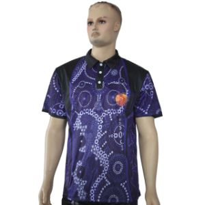 OEM Wholesale Cheap Custom 100% Polyester Dri Fit Golf Shirts pictures & photos
