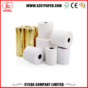 High Quality Cash Register Thermal Paper Roll 55GSM pictures & photos