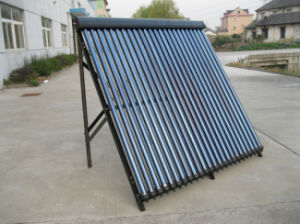24tubes Black Aluminum Alloy Heat Pipe Solar Collector pictures & photos