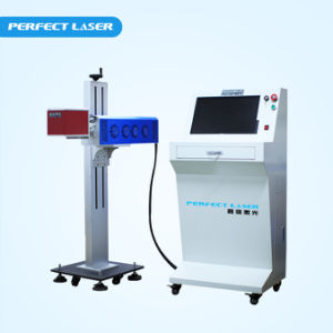 Fast Speed Fabric Paper Bottle CO2 Laser Marking System pictures & photos