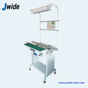 SMT Buffer Inspection Conveyor with Light pictures & photos
